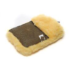 2in1 Soft SYNTHETIC Wool Wash Mitt Polish Glove Car Caravan Soft Genuine
