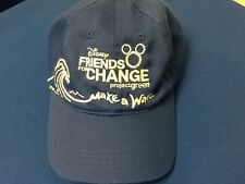 Disney Project Green Friends for Change Make a Wave Oceans Disney Store Hat RARE