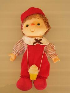 "Icecream Boy Doll 11"" Tall All Original Clothes & Icecream Hong Kong"