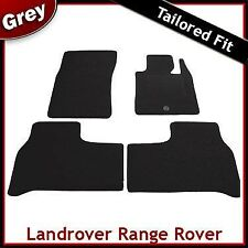Landrover Range Rover (2002 2003 2004 ...) Tailored Fitted Carpet Car Mats GREY