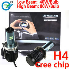 cree chip h4 led headlight bulb h4 h13 9004 9007 daul beam LED conversion Kit