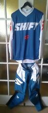 Shift Whit3 Label Muse Motocross Enduro Blue/White 30/Med Kit Combo