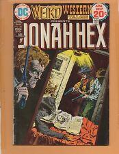 Weird Western Tales #23 Jonah Hex 1974 VG/FN to FN-