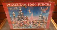 PUZZLE 1000 PIECES NOEL Disneyland Paris
