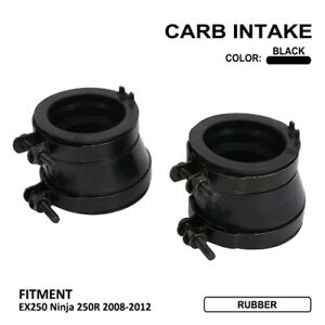 Carburetor Intake Manifold Boot Carb for Kawasaki EX250 Ninja 250R 2008-2012