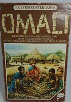 Brief Encounters Games Omali African Mancala Game Vintage Rare 1975