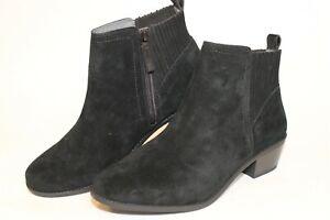 Vionic Devon Womens Size 11 Wide 43 Suede Zip Heeled Comfort Ankle Boots VS350