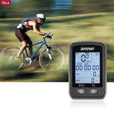 Ordinateur de vélo sans-fil iGPSPORT iGS20E Noir, Écran rétroéclairé GPS Etanche