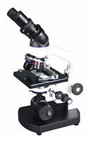 2000x Medical Vet Doc Compound Student LED Cordless Medical Binocular Microscope