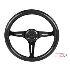 Ryanstar 350mm Modified Steering Wheel Automobile Race Steering Wheel Black