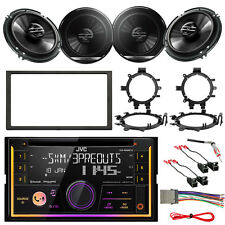 "Bluetooth JVC Radio,GM Multi-Kit 1990-2012 Kit,Antenna Adapter,6.5"" Speaker Set"