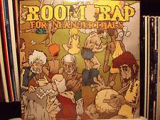 BOOM BAP FOR NEANDERTHALS (VINYL LP)  2002!!!  RARE!!!  CUNNINLYNGUISTS!!!