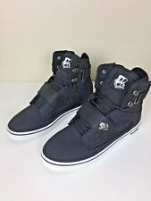 Vlado Footwear Men's Atlas II 2 Black White Hi-Top Shoes Size 10 IG-1500-102