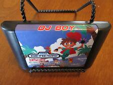 DJ Boy Sega Genesis Authentic Original Official Fast Free Shipping!