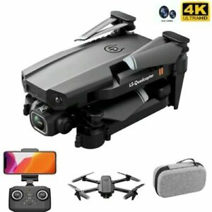 Drone Pro WIFI FPV 4K HD Camera with Foldable Selfie Foldable RC Quadcopter Gift