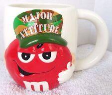M&M Collector Coffe / Tea Cup Major Attitude Red Peanut Army Camo 2006 Galerie