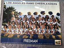 93-94 Rams Cheerleaders 24x18 Poster