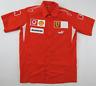 Ferrari Shell Vodafone F1 Formula 1 racing red sports shirt mens Small S