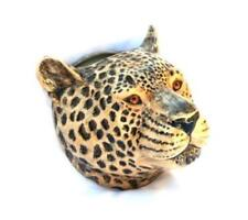 More details for leopard wall vase by quail pottery wall hanging pot flower display gift boxed