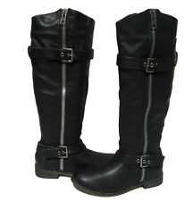 New Women's Riding Boots Black Knee High Shoes Winter Snow Ladies size 7.5
