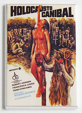 Cannibal Holocaust FRIDGE MAGNET (2.5 x 3.5 inches) movie poster