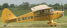 PA-17 Piper Vagabond PA17 Airplane Wood Model Big