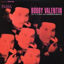 BOBBY VALENTIN Lets Turn On Arrebatarnos FANIA RECORDS Sealed Vinyl LP