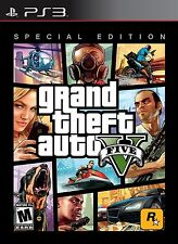 Grand Theft Auto V Special Edition Sony PlayStation 3 2013 steel box case cib