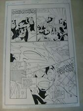 IMPULSE #39 page #5 original art, BATTLES WILD DOGS--AWESOME,  FLASH, 1998!