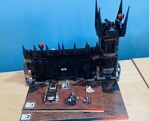 LEGO LOTR Hobbit 79007 Battle at the Black Gate Set and manual *NO MINIFIGURES*
