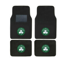 New 4pcs NBA Boston Celtics Car Truck Front Rear Carpet Floor Mats Set