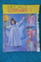#3758 McCALL'S Sewing PATTERN- Girl's FAIRY Costumes. AGES 3-8. MOSTLY UNCUT