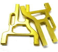 L11228 1/10 Escala Suspensión Inferior Susp Brazo x 2 Oro Amarillo 76mm 11415