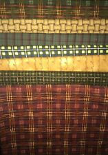 Big Block QUILT KIT Fabrics -with Flannel Plaids