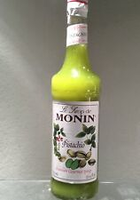 Monin Pistachio Syrup, Rich and Roasted Pistachio Flavor, Great for Lattes, ml