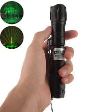 High Power 10 Miles Range 532nm Green Laser Pointer Light Lazer Pen Visible Beam