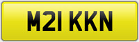 MIKK N MICK MIKE MICHAEL NUMBER PLATE M21 KKN MIK CAR REG FEES PAID MIKES MIKEY