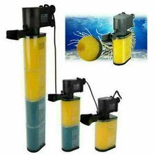 Aquarium Fish Tank Internal Submersible Filtration Pump Tropical Filter Pump UK