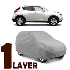 TRUE 1 LAYER GRAY FITTED SUV COVER OUTDOOR WATER SUN RESISTANT for NISSAN JUKE