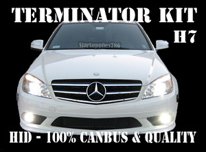 MERCEDES BENZ SUPER CANBUS H7 HID TERMINATOR KIT XENON CONVERSION KIT