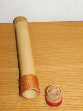 morceau de BAMBOU avec BOUCHON vanille TAHITI ile ISLAND Bambus BAMBOO tube CIRE