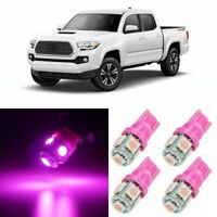11 x PINK Interior LED Lights Package For 2016 2017 2018 2019 2020 Toyota Tacoma