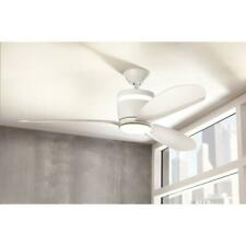 Light Ceiling Fan SW1618WH Home Decorators Collection Federigo 48 in. LED White