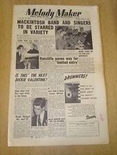 MELODY MAKER 1953 NOVEMBER 14 KEN MACKINTOSH DICKIE VALENTINE JAZZ CLUB