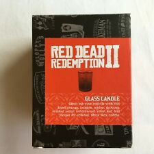 "Red Dead Redemption 2 Glass Candle Collector Edition ""NEW"" RARE"