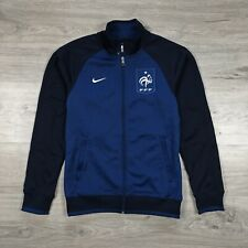 France 2012 Football Soccer Nike FFF Core Trainer Jacket Navy Blue size S