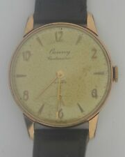 Vintage CAUNY Centenario Gold Plated Watch. Ref: 912.599, Cal: 26.