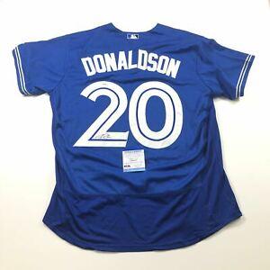 Josh Donaldson Signed Jersey PSA/DNA Toronto Bluejays Autographed