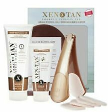 XEN TAN Premium Sunless Tan 4 Piece Gift Kit Deep Bronze Damaged Box