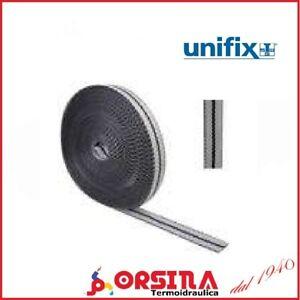 Bandella di fissaggio in tessuto larghezza 15 mm x 10 metri UNIFIX 1 o 10 rotoli